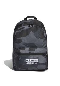 Adidas - Plecak adidas Originals Camo Classic ED8654. Materiał: tkanina, poliester. Wzór: ze splotem, nadruk. Styl: klasyczny, sportowy