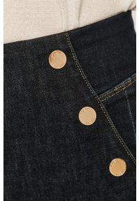 Guess - Jeansy Ultra Curve. Kolor: niebieski