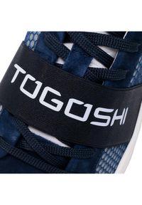 Niebieskie półbuty Togoshi