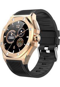 Smartwatch Kumi GW20 Czarny (GW20G). Rodzaj zegarka: smartwatch. Kolor: czarny