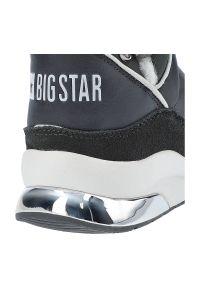 Big-Star - Botki BIG STAR II274281 Szary. Kolor: szary. Materiał: zamsz, futro, syntetyk. Szerokość cholewki: normalna. Sezon: zima. Obcas: na platformie. Styl: elegancki