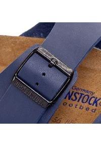 Birkenstock - Klapki BIRKENSTOCK - Arizona 051061 Blau. Kolor: niebieski. Materiał: materiał, skóra ekologiczna. Styl: klasyczny #7