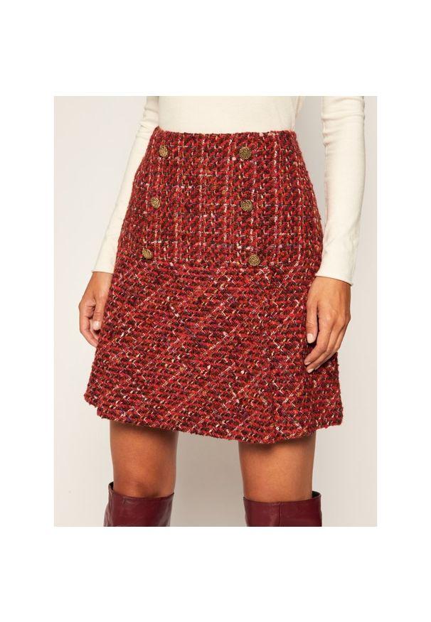 Czerwona spódnica mini Luisa Spagnoli