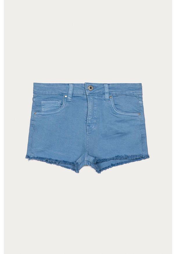 Niebieskie spodenki Pepe Jeans na co dzień, casualowe