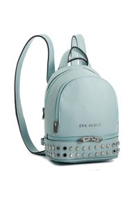 Niebieski plecak Eva Minge klasyczny