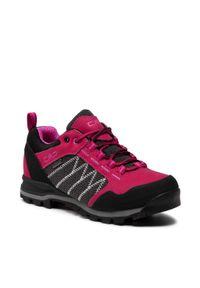 Trekkingi CMP - Thamat Low Wmn Rekking Shoe Wp 30Q9576 Sherry C567. Kolor: różowy. Materiał: skóra, nubuk, materiał