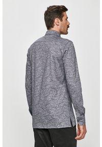 Emanuel Berg - Koszula. Typ kołnierza: button down. Kolor: szary. Materiał: tkanina