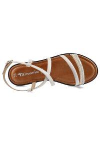 Tamaris - Sandały TAMARIS 1-28128-24 111 Offwhite/Silv.