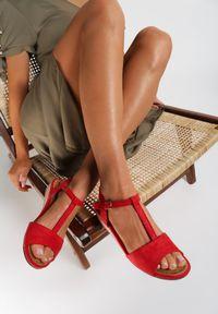 Czerwone sandały Renee
