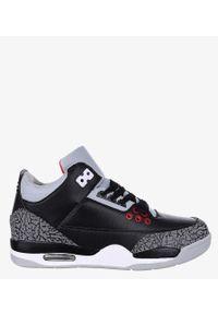 Casu - Czarne buty sportowe sznurowane casu 201c/bg5. Kolor: czarny, szary, wielokolorowy