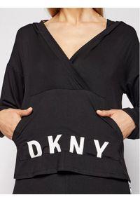 Czarna bluza DKNY