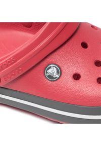 Crocs - Klapki CROCS - Crocband 11016 Pepper. Kolor: czerwony. Materiał: materiał