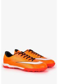 Casu - Pomarańczowe buty sportowe orliki sznurowane casu 21m4/m. Kolor: pomarańczowy