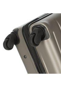Wittchen - Zestaw walizek z ABS-u żłobionych. Materiał: guma. Styl: klasyczny