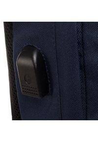 CATerpillar - Plecak CATERPILLAR - Universo 83730-370 Ultimarine/Black. Kolor: czarny, wielokolorowy, niebieski. Materiał: materiał