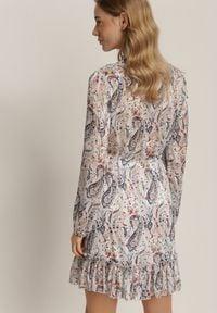 Renee - Biała Sukienka Talolure. Kolor: biały