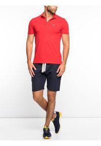 Czerwona koszulka polo Colmar polo
