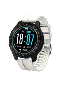 Biały zegarek GARETT smartwatch, sportowy