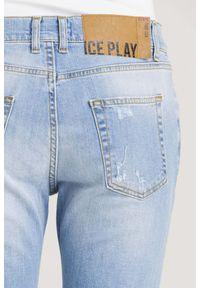 Jeansy Ice Play z podwyższonym stanem, klasyczne