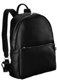 DAVID JONES - Plecak damski czarny David Jones CM5728 BLACK. Kolor: czarny. Materiał: skóra ekologiczna