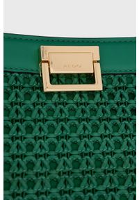 Aldo - Torebka Killara. Kolor: zielony. Rodzaj torebki: na ramię