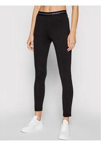 Calvin Klein Jeans Legginsy J20J216242 Czarny Slim Fit. Kolor: czarny