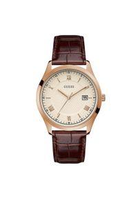 Brązowy zegarek Guess #3