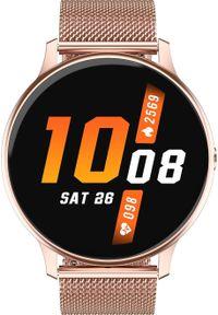 Smartwatch Promis SD25 Różowe złoto (SD25/1-DT88). Rodzaj zegarka: smartwatch. Kolor: różowy, wielokolorowy, złoty