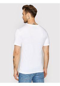 Lacoste Komplet 3 t-shirtów TH3321 Biały Slim Fit. Kolor: biały