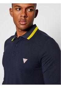 Niebieska koszulka polo Guess polo