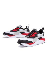 Sneakersy Puma z cholewką, z paskami
