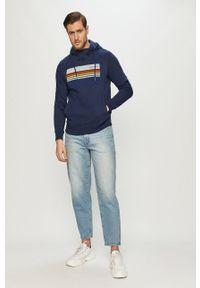Niebieska bluza nierozpinana s.Oliver casualowa, z nadrukiem, na co dzień #5