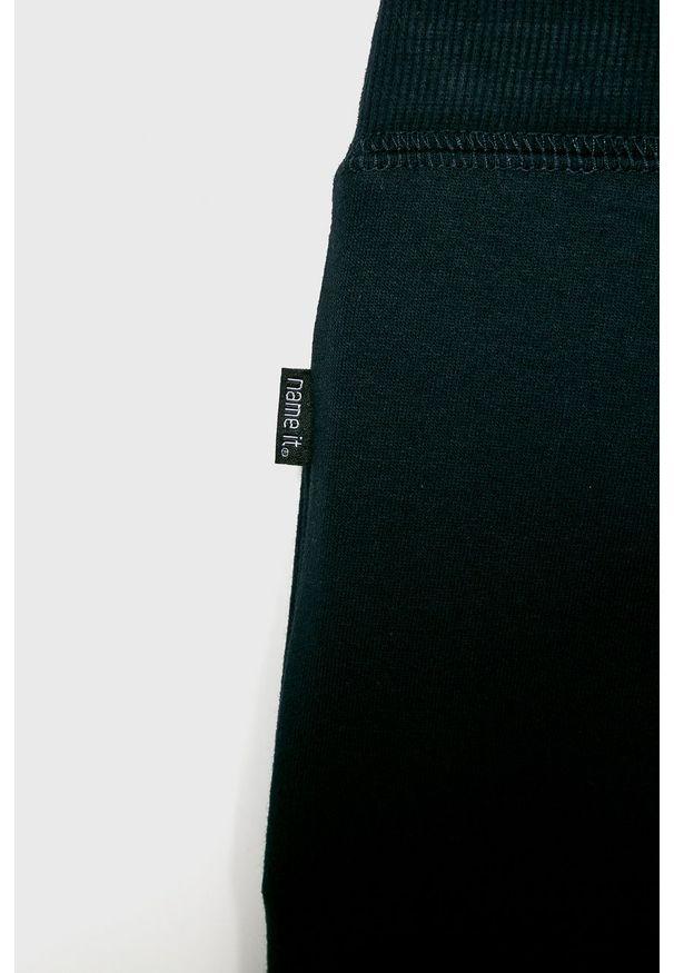 Niebieskie spodnie dresowe Name it na co dzień
