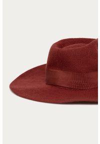 Brązowy kapelusz Brixton gładki