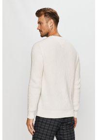 Biały sweter Tommy Jeans na co dzień, z aplikacjami