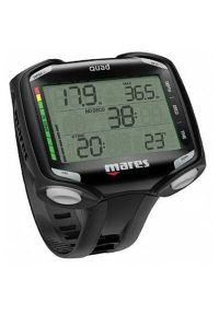 Czarny zegarek MARES sportowy