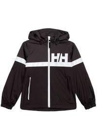 Czarna kurtka przeciwdeszczowa Helly Hansen