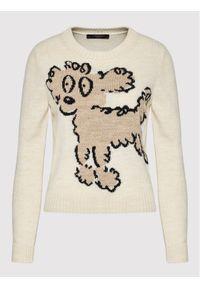 Weekend Max Mara Sweter Odessa 53661219 Beżowy Regular Fit. Kolor: beżowy