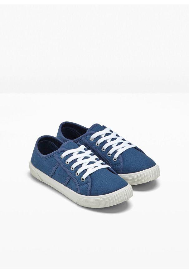 Niebieskie buty sportowe bonprix