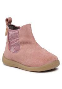Gioseppo - Trzewiki GIOSEPPO - Estiria 60624 Pink. Okazja: na spacer. Kolor: różowy. Materiał: skóra, zamsz. Szerokość cholewki: normalna. Sezon: zima