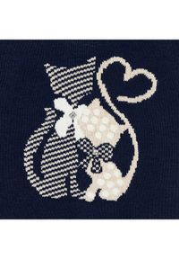 Mayoral Komplet sweter i sukienka 4966 Granatowy Regular Fit. Kolor: niebieski #5