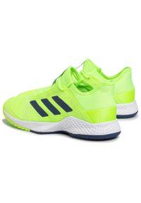 Zielone buty do tenisa Adidas