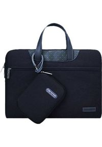 Czarna torba na laptopa Cartinoe