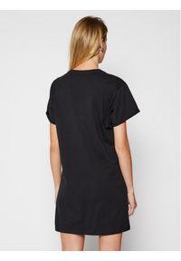 Czarna sukienka DKNY Sport sportowa, na co dzień, casualowa
