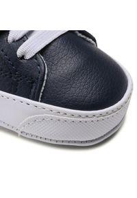 Polo Ralph Lauren - Sneakersy POLO RALPH LAUREN - Theron IV Ps RL100567 Navy/White. Okazja: na spacer. Zapięcie: rzepy. Kolor: niebieski. Materiał: skóra ekologiczna, materiał. Szerokość cholewki: normalna
