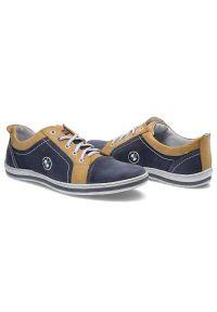 Avanti - Półbuty AVANTI 422 07 Niebieski/Żółty. Kolor: niebieski, żółty, wielokolorowy #5