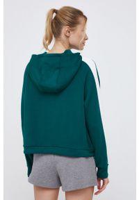 4f - 4F - Bluza. Kolor: zielony. Długość rękawa: raglanowy rękaw
