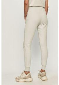 Szare spodnie dresowe Ellesse z aplikacjami