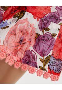 ZIMMERMANN KIDS - Sukienka w kwiaty Poppy Flip 2-10 lat. Kolor: czerwony. Wzór: kwiaty. Sezon: lato. Typ sukienki: proste