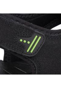 Czarne sandały Lanetti klasyczne, na lato